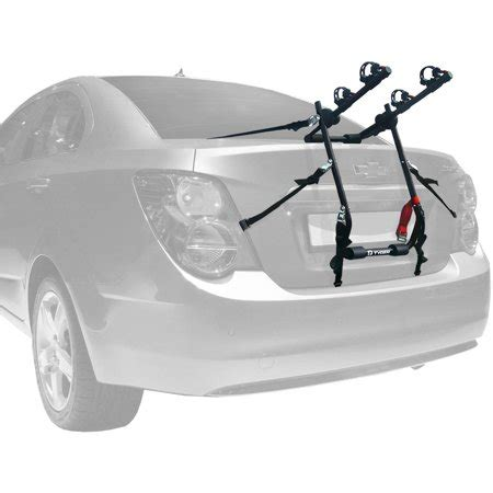 5 bike rack for suv tyger deluxe trunk mount 2 bike carrier rack for sedan