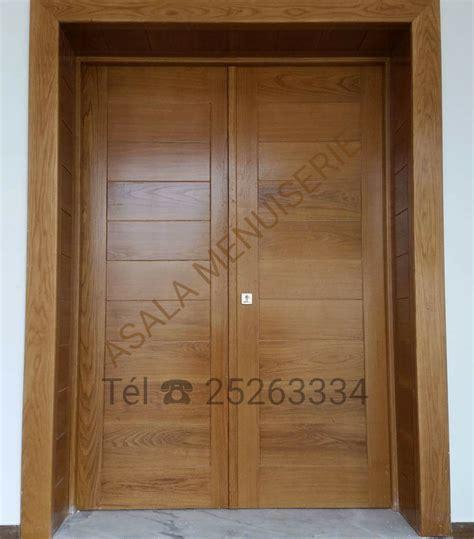 rangement poubelle cuisine portes en bois nobles meubles et décoration tunisie