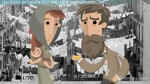 Old and New Immigrants in the US: Definition & Overview ...