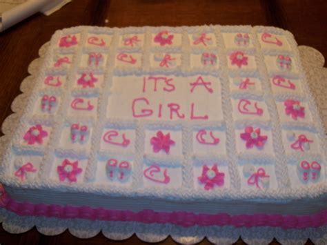 Baby Shower Sheet Cakes For by Billy S Of Cake Baby Shower Sheet Cake