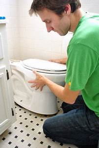 Fixing A Toilet That Rocks  Replacing A Wax Ring   U0026 Adding