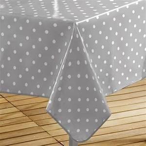 Nappe Cirée Rectangulaire : nappe cir e rectangulaire l240 cm lollypop gris linge de table eminza ~ Teatrodelosmanantiales.com Idées de Décoration