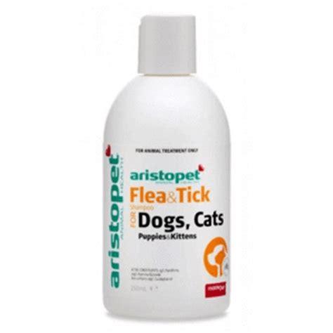aristopet flea tick shampoo  dogs cats ml