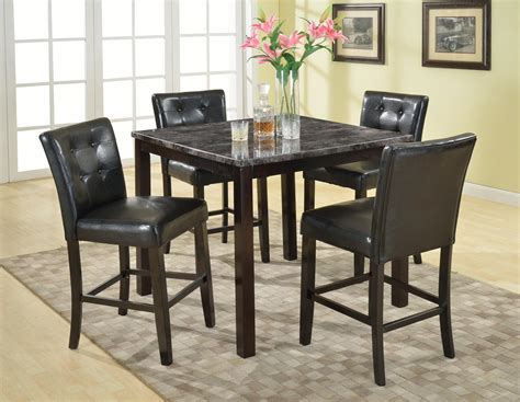 4 chair table set roundhill furniture