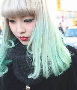 Blonde and Green Ombre Hair Color Ideas - Hair Colors Ideas