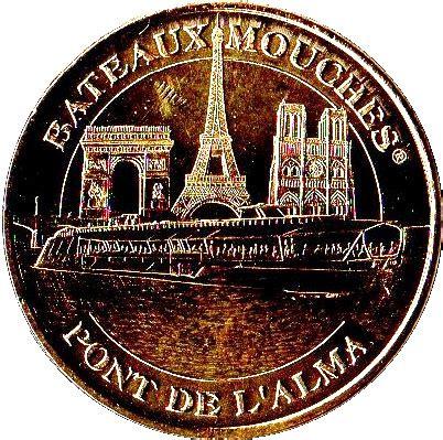 Bateau Mouche Pont Alma by Monnaie De Paris Bateaux Mouches Pont De L Alma