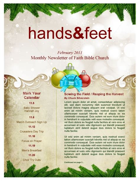christmas letter ideas merry newsletter template newsletter templates 20848 | page 02