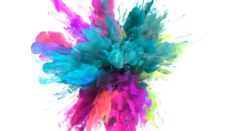 color burst burst colore colorata ciano magenta rosa fumo esplosione