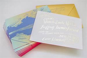 the printing process foil stamping With wedding invitation printing process