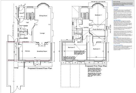 kitchen extension plans ideas exle plans