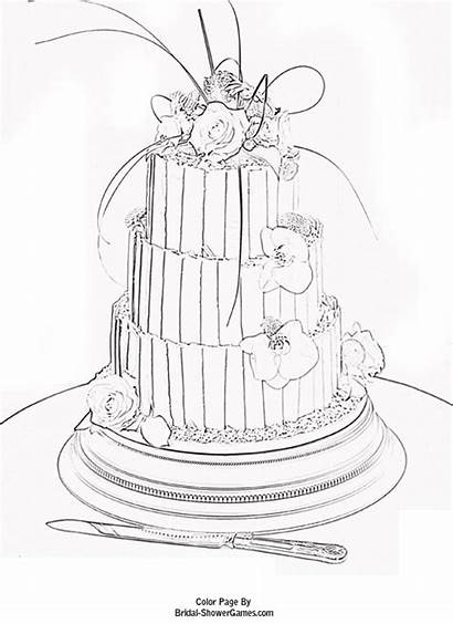 Bridal Coloring Pages Shower Printable Adults Instantly