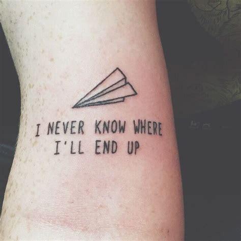 Best 25+ Text Tattoo Ideas On Pinterest