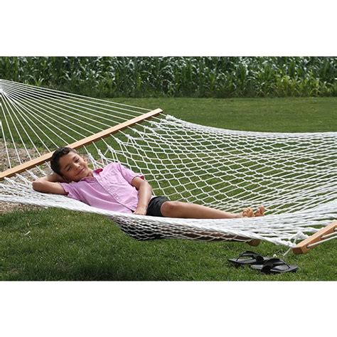 Cotton Rope Hammock by Vivere Hammocks Cot21 Cotton Rope Hammock Lowe S