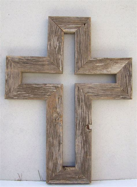 25 unique cross ideas on aged barnwood wall cross unique one of a beautiful