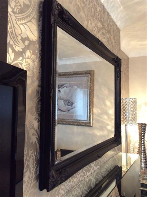 collection  black wall mirrors  sale mirror ideas