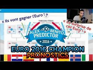 Chanson De L Euro 2016 Youtube : le vainqueur de l 39 euro 2016 sera pronostic youtube ~ Medecine-chirurgie-esthetiques.com Avis de Voitures