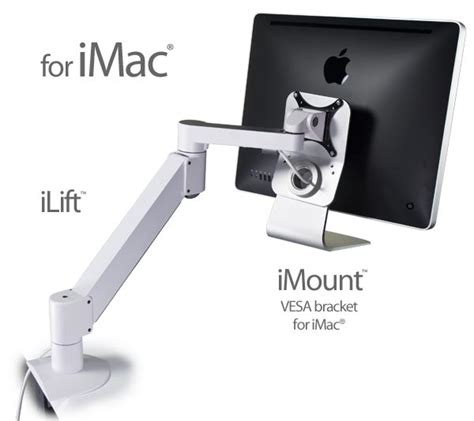 imac monitor desk mount smartdesks monitor arms for apple mac and imac vesa