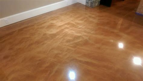 Liquid Lava Flow Epoxy Floor