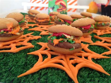 cloudy   chance  meatballs party ideas   sweet