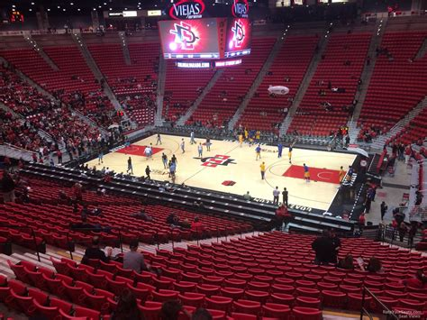 viejas arena section  rateyourseatscom