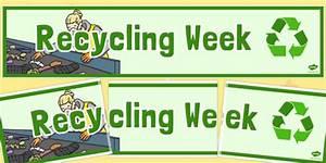 Recycling Week Display Banner
