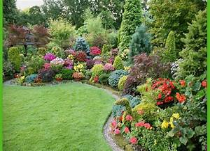 Colorful shade garden plants landscaping gardening ideas for Beautiful garden plan