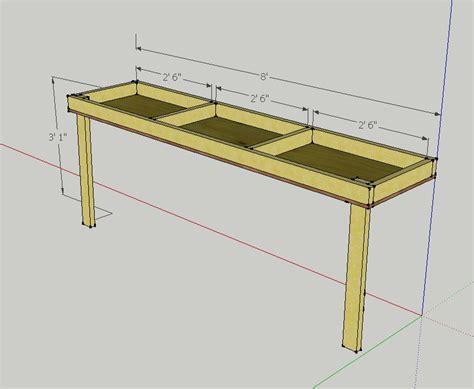 garage workbench plans pdf diy garage workbench plans uk furniture made