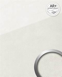 Kosten M2 Mauerwerk : dekorpaneel leder optik wallface 19305 leguan bianco wandverkleidung glatt in glas optik ~ Markanthonyermac.com Haus und Dekorationen