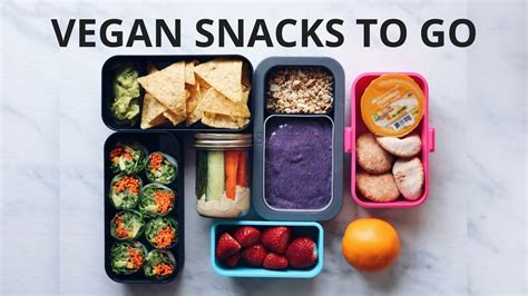 cuisine to go healthy vegan snacks to go