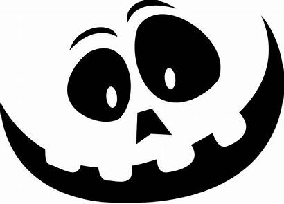 Pumpkin Carve Face Stencil Easy Simple Uncovered