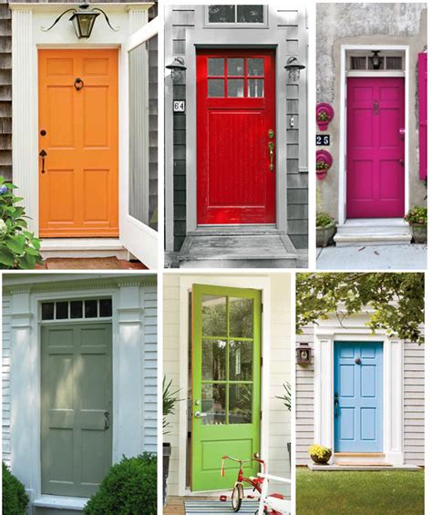 It's Like This Painted Doors Cape Cod Colors