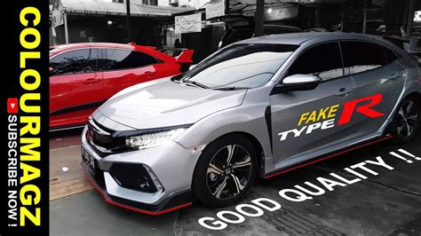 Modifikasi Honda Civic Hatchback by Modifikasi Honda Civic Hatchback Type R Bodykit Lunar