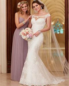 2016 stella york wedding dresses scoop neck appliqued lace With stella york wedding dress prices