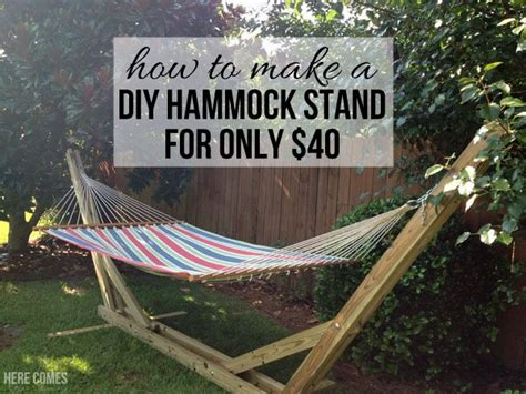 diy hammock stand plans 40 diy hammock stand that you can make this weekend