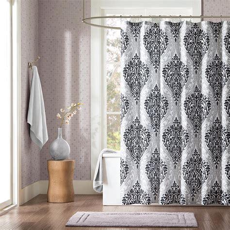 luxury shower curtains   master bath household