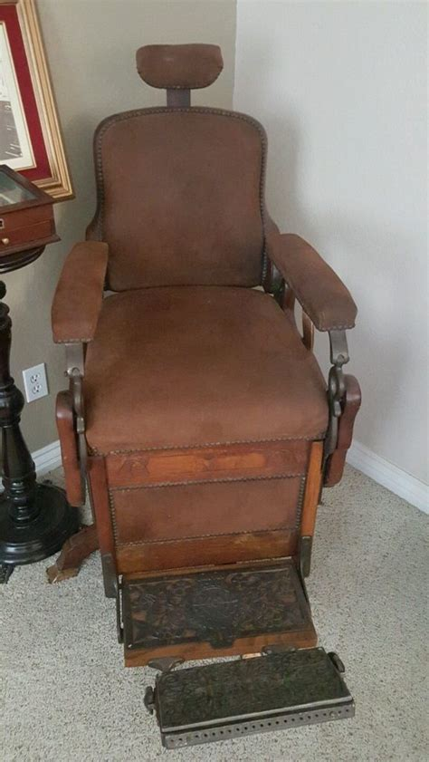 antique wooden barber chair antique furniture