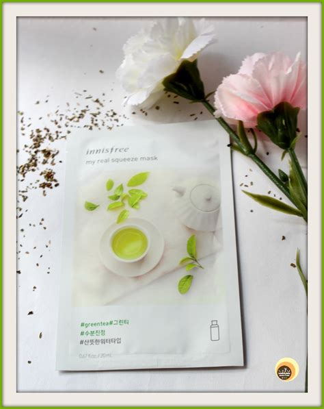 Harga Innisfree My Real Squeeze Mask and makeup innisfree my real squeeze mask