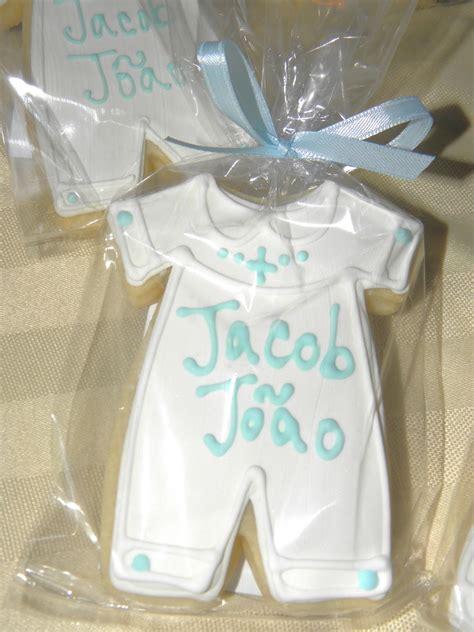 cookie dreams cookie  boy christening cookie favors