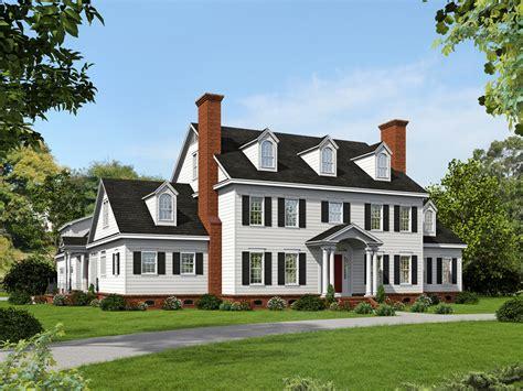 bedrm  sq ft georgian house plan