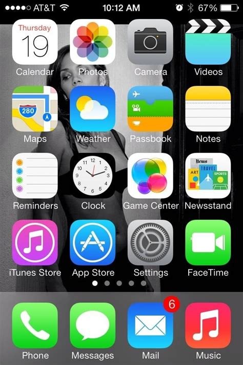 what iphone do i how to hide the newsstand app in ios 7 on your