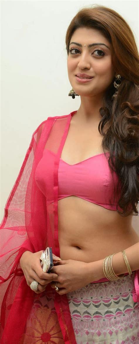 pranitha hot navel show  pink bikini blouse kollywoodlive