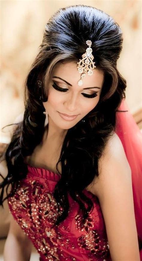 indian hair style 15 top indian bridal hairstyles indian makeup and 2816