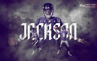 Ravens Baltimore Lamar Jackson Wallpapers Desktop Tunnel