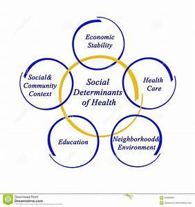 Social Determinants Of Health Stock Illustration