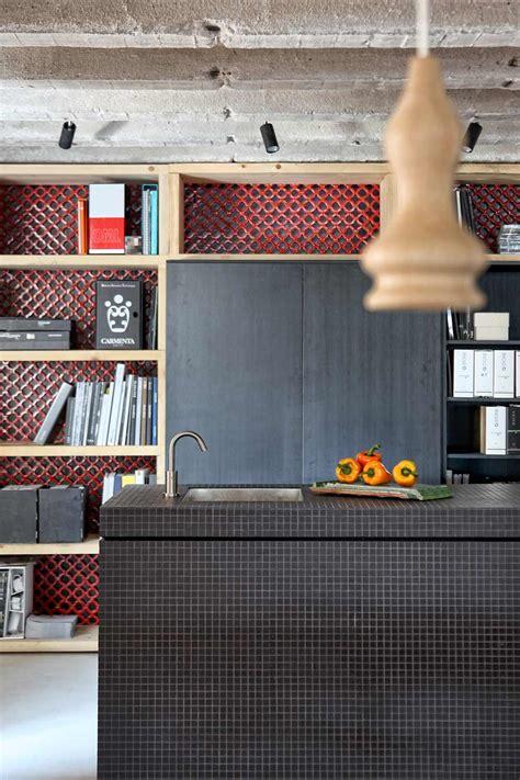 Loft Der Moderne Lebensstilmoderner Loft Design by Kombination Unterschiedlicher Materialien Faliro Loft