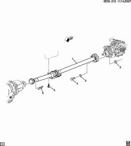 Cadillac Srx Shaft  Propeller  Shfpaintedjng  Shaftprop
