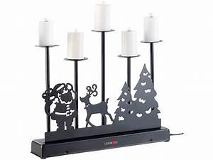 5 Armiger Kerzenleuchter : lunartec 5 armiger kerzenleuchter mit elektrischen kerzen und netzteil ~ Frokenaadalensverden.com Haus und Dekorationen