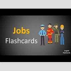 Learn Jobs & Occupations Vocabulary In English Via Flashcards  Hd Youtube