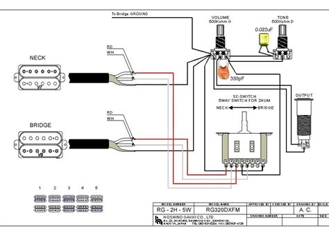 Teisco Single Pickup Wiring Diagram Images