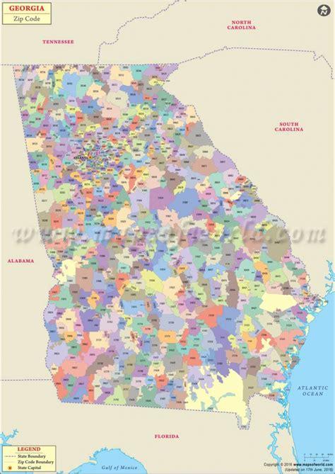 Atlanta Zip Code Map Printable Printable Maps